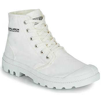 Παπούτσια Μπότες Palladium PAMPA HI ORGANIC II Άσπρο