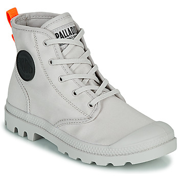 Παπούτσια Γυναίκα Μπότες Palladium PAMPA HI TWILL Grey