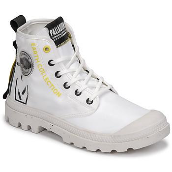 Παπούτσια Μπότες Palladium PAMPA RCYCL METRO Άσπρο