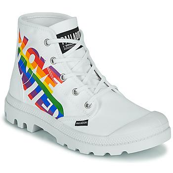 Παπούτσια Μπότες Palladium PAMPA HI PRIDE Άσπρο / Multicolore