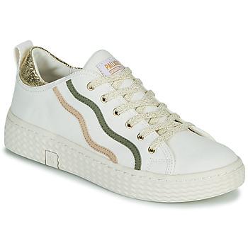 Παπούτσια Γυναίκα Χαμηλά Sneakers Palladium Manufacture TEMPO 02 CVSG Άσπρο