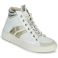 Παπούτσια Γυναίκα Ψηλά Sneakers Palladium Manufacture TEMPO 03 TXT Άσπρο