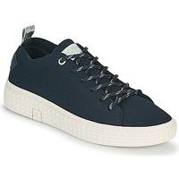 Παπούτσια Γυναίκα Χαμηλά Sneakers Palladium Manufacture TEMPO 06 KNIT Marine