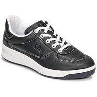 Παπούτσια Γυναίκα Χαμηλά Sneakers TBS BRANDY Black / Άσπρο