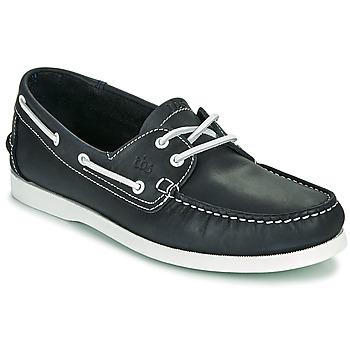 Παπούτσια Άνδρας Boat shoes TBS PHENIS Marine / Άσπρο