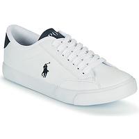 Παπούτσια Παιδί Χαμηλά Sneakers Polo Ralph Lauren THERON IV Άσπρο / Marine