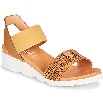 Παπούτσια Γυναίκα Σανδάλια / Πέδιλα Felmini DARA Brown / Beige