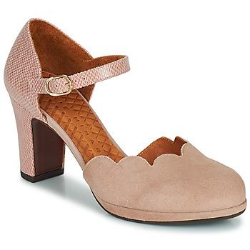 Παπούτσια Γυναίκα Γόβες Chie Mihara SELA Ροζ / Beige