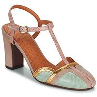 Παπούτσια Γυναίκα Γόβες Chie Mihara INMA Beige / Ροζ / Gold
