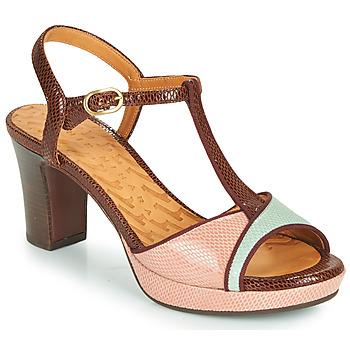 Παπούτσια Γυναίκα Σανδάλια / Πέδιλα Chie Mihara NATI Brown / Ροζ / Green