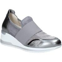 Παπούτσια Γυναίκα Slip on Melluso R20413 Ασήμι
