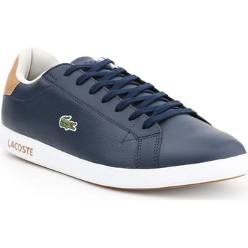 Παπούτσια Άνδρας Χαμηλά Sneakers Lacoste Graduate LCR3 118 1 SPM 7-35SPM00134C1 navy , brown