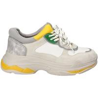 Παπούτσια Γυναίκα Χαμηλά Sneakers Gold&gold B18 GT528 Γκρί