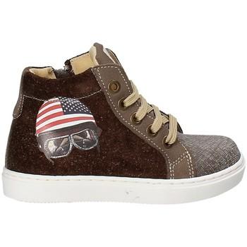 Παπούτσια Παιδί Ψηλά Sneakers Melania ME2040D7I.A καφέ