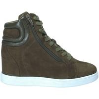 Παπούτσια Γυναίκα Ψηλά Sneakers Fornarina PI18EL1147S034 Πράσινος