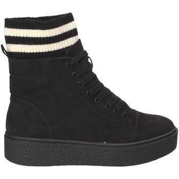 Παπούτσια Γυναίκα Ψηλά Sneakers Fornarina PI18HR1128S000 Μαύρος