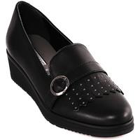 Παπούτσια Γυναίκα Μοκασσίνια Grunland SC3141 Μαύρος