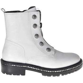Παπούτσια Γυναίκα Μπότες Elvio Zanon I6507G λευκό