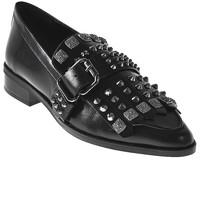 Παπούτσια Γυναίκα Μοκασσίνια Elvio Zanon I7704G Μαύρος