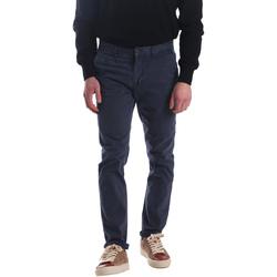 Υφασμάτινα Άνδρας Παντελόνια Chino/Carrot Automatic PAU22172 Μπλε