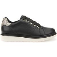 Παπούτσια Παιδί Derby Geox J744FA 000BC Μαύρος