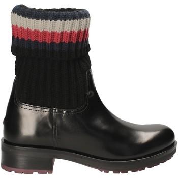 Παπούτσια Γυναίκα Μποτίνια Tommy Hilfiger FW0FW02018 Μαύρος