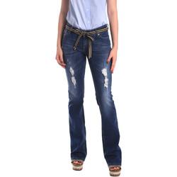 Υφασμάτινα Γυναίκα Boyfriend jeans Fornarina BER1I98D834CE Μπλε