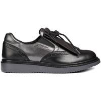 Παπούτσια Κορίτσι Μοκασσίνια Geox J844FE 054AJ Μαύρος