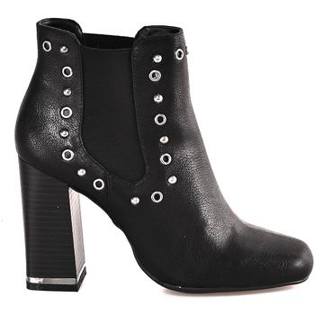 Παπούτσια Γυναίκα Μποτίνια Gattinoni PINDL0774W Μαύρος