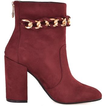 Παπούτσια Γυναίκα Μποτίνια Gattinoni PINOD0784W Βιολέτα