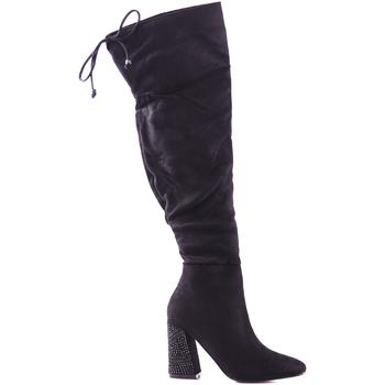 Παπούτσια Γυναίκα Ψηλές μπότες Gold&gold B18 GJ13 Μαύρος