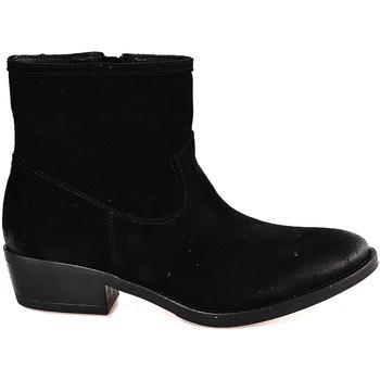 Παπούτσια Γυναίκα Μποτίνια Mally 5340 Μαύρος