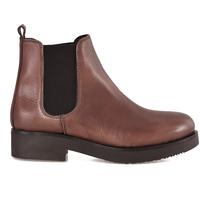 Παπούτσια Γυναίκα Μποτίνια Mally 5535 καφέ