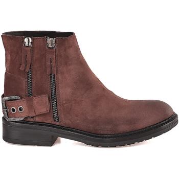 Παπούτσια Γυναίκα Μποτίνια Mally 6324 καφέ