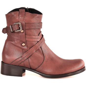 Παπούτσια Γυναίκα Μποτίνια Mally 6431 καφέ
