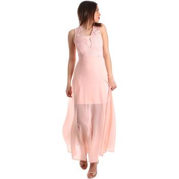 Υφασμάτινα Γυναίκα Μακριά Φορέματα Gaudi 911FD15004 Ροζ