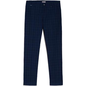 Υφασμάτινα Άνδρας Παντελόνια Chino/Carrot NeroGiardini E070682U Μπλε