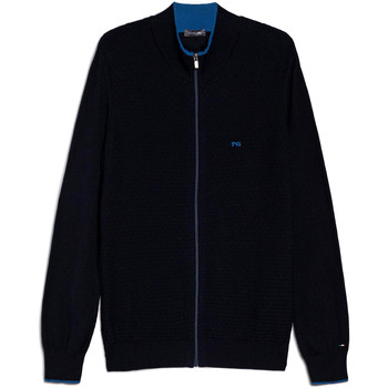 Υφασμάτινα Άνδρας Μπουφάν / Ζακέτες NeroGiardini E074560U Μπλε