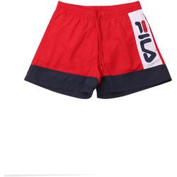 Υφασμάτινα Άνδρας Μαγιώ / shorts για την παραλία Fila 687743 το κόκκινο