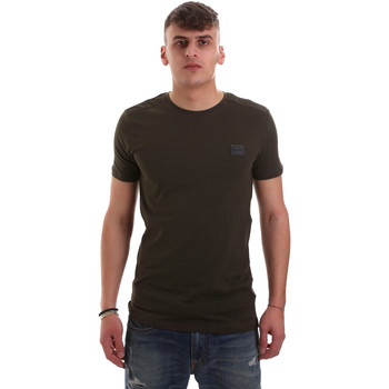 Υφασμάτινα Άνδρας T-shirt με κοντά μανίκια Antony Morato MMKS01417 FA120001 Πράσινος