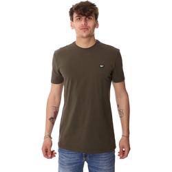 Υφασμάτινα Άνδρας T-shirt με κοντά μανίκια Antony Morato MMKS01737 FA120022 Πράσινος