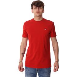 Υφασμάτινα Άνδρας T-shirt με κοντά μανίκια Antony Morato MMKS01737 FA120022 το κόκκινο