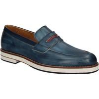 Παπούτσια Άνδρας Μοκασσίνια Exton 605 Μπλε