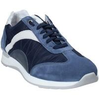 Παπούτσια Άνδρας Χαμηλά Sneakers Exton 661 Μπλε