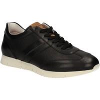 Παπούτσια Άνδρας Χαμηλά Sneakers Maritan G 140658 Μαύρος