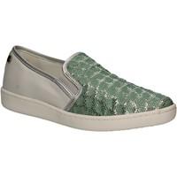 Παπούτσια Γυναίκα Slip on Keys 5051 Πράσινος