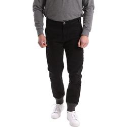 Υφασμάτινα Άνδρας Παντελόνια Chino/Carrot Gaudi 62BU20001 Μαύρος