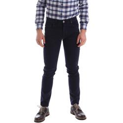 Υφασμάτινα Άνδρας Παντελόνια Πεντάτσεπα Sei3sei 02396 Μπλε