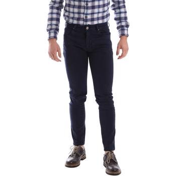 Υφασμάτινα Άνδρας Παντελόνια Πεντάτσεπα Sei3sei 02696 Μπλε