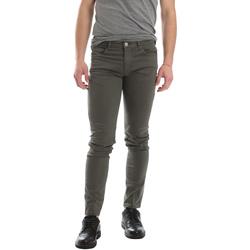 Υφασμάτινα Άνδρας Παντελόνια Πεντάτσεπα Sei3sei 02696 Πράσινος